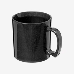 Mugs en plastique