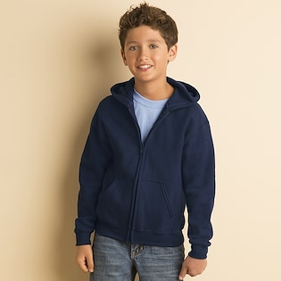 Gildan Heavy Blend Zip Hooded Sweat Kids