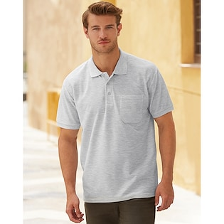 Fruit of the Loom 65/35 Polo Pocket