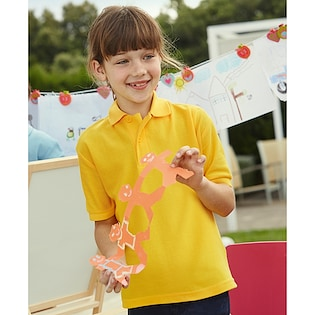 Fruit of the Loom 65/35 Kids Polo