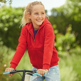 Fruit of the Loom Kids Premium Hooded Sweat Jacket