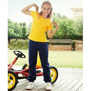 Fruit of the Loom Kids Classic Elasticated Cuff Jog Pants