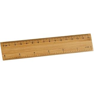 Viivain Bamboo, 15 cm