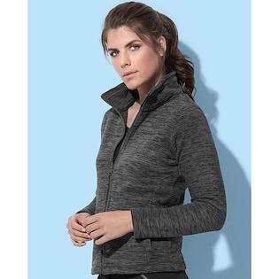 Stedman Active Melange Fleece Jacket Women