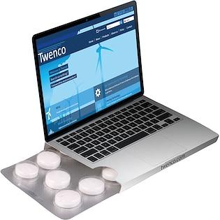 Caja de pastillas de menta Laptop
