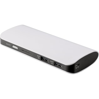 Powerbank Columbus, 10.000 mAh