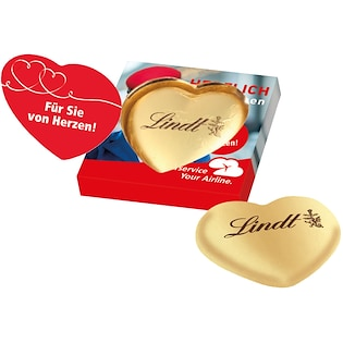 Lindt Heart Single Box