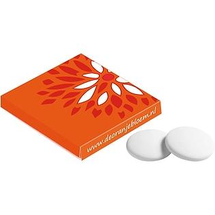 Boîte de pastilles à la menthe Hera