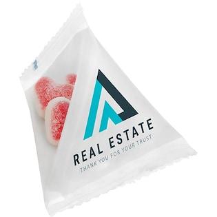 Pirámide de dulces Nicky Love, 15 g
