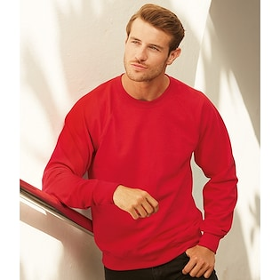 Fruit of the Loom Lightweight Raglan Sweat