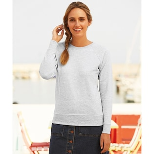 Fruit of the Loom Ladies Lightweight Raglan Sweat