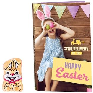 Sjokolade Card Bunny
