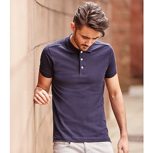 Russel Men´s Fitted Stretch Polo 566M