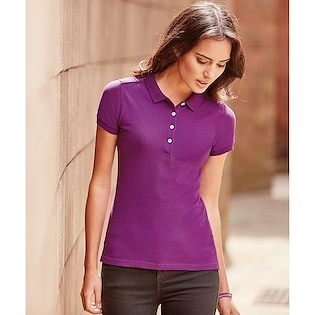 Russel Ladies´ Fitted Stretch Polo 566F