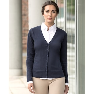 Russel Ladies´ V-Neck Knitted Cardigan 715F