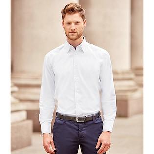 Russel Men´s Long Sleeve Tailored Oxford Shirt 922M