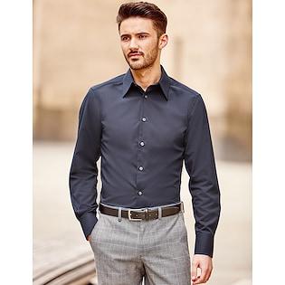 Russel Men´s Long Sleeve Fitted Tencel® Shirt 954M