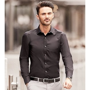 Russel Men´s Long Sleeve Fitted Stretch Shirt 960M