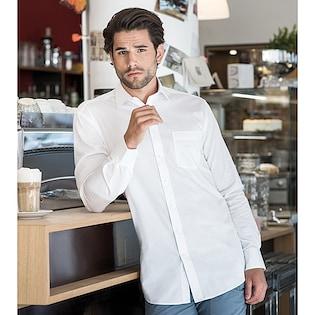 Russel Men´s Long Sleeve Tailored Coolmax® Shirt 972M