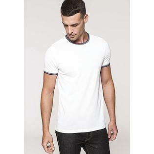 Kariban Men´s Pique Knit Crew Neck T-shirt