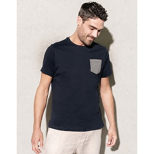 Kariban Organic Cotton T-shirt Pocket