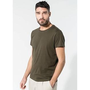 Kariban Men´s Organic Cotton Crew Neck T-shirt