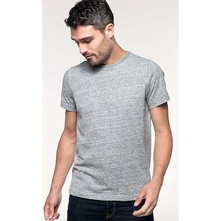 Kariban Men´s Vintage Short Sleeve T-shirt