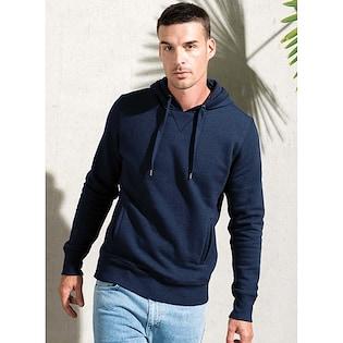 Kariban Men´s Organic Hooded Sweatshirt
