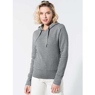 Kariban Ladies´ Organic Hooded Sweatshirt