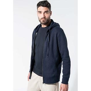Kariban Men´s Organic Full Zip Hooded Sweatshirt
