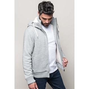 Kariban Vintage Sherpa-Lined Fleece Jacket