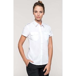 Kariban Ladies´ Short-Sleeved Pilot Shirt