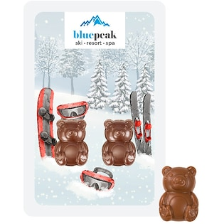 Cioccolata Bear Buddies, 10 g