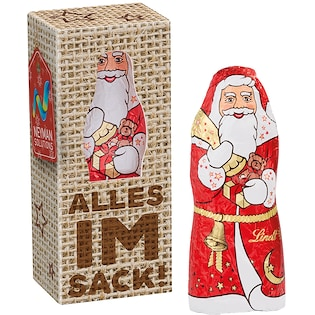 Lindt Santa Claus Mini Box, 10 g