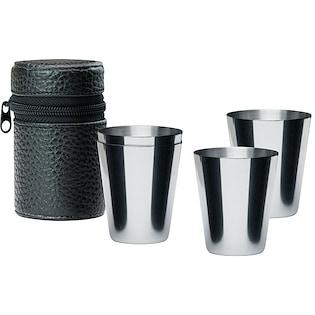 Set di tazze in metallo Polo