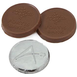 Schokoladenmünze Pop, 35 mm