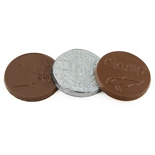 Schokoladenmünze Soho, 45 mm