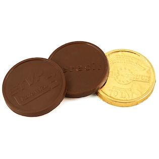 Schokoladenmünze Frescati, 66 mm