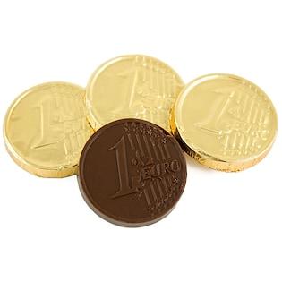 Schokoladenmünze Euro