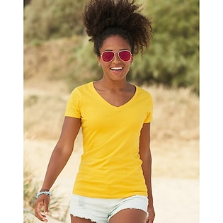 Fruit of the Loom Valueweight T V-Neck Women