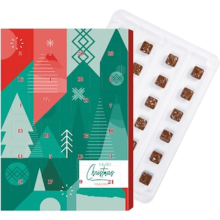 Calendario con cioccolatini Mini