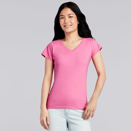 Gildan SoftStyle V-Neck Women