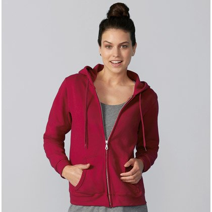 Gildan Heavy Blend Zip Hooded Sweat Women