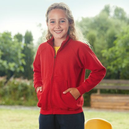 FOTL Kids Classic Sweat Jacket