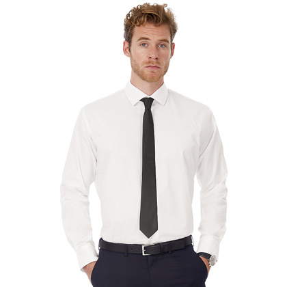 B&C Black Tie LSL Men