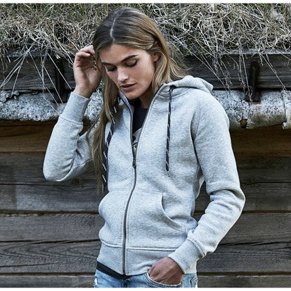 Tee Jays Ladies Fashion Full Zip Hood
