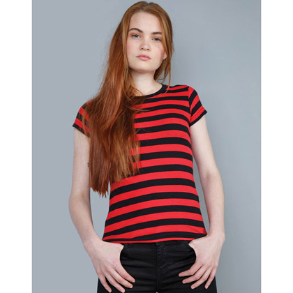 Mantis Women's Stripy T