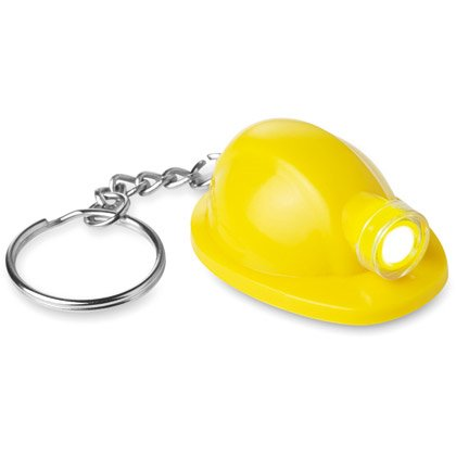 Portachiave con LED Hard Hat
