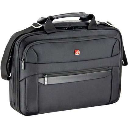 Wenger Basel Laptop Bag, 17""