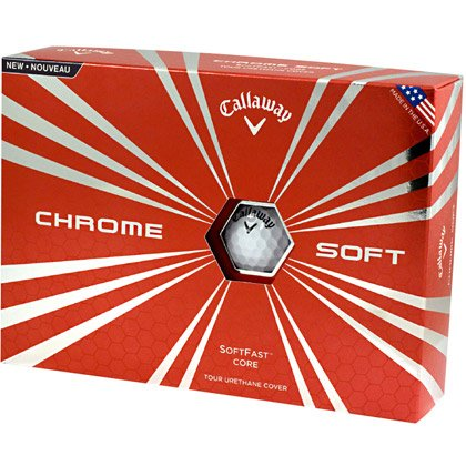 Pallina da Golf Callaway Chrome Soft